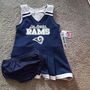 Rams Cheerleading Outfit